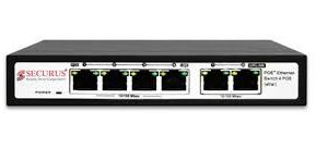 Securus SS-N04EP-E2 4+2 POE Switch