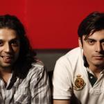 Omran Shafique with Fawad Khan of EP - Coke Studio Season 3