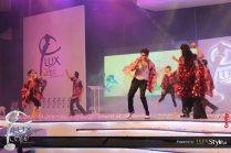 Ali Zafar & Humaima Malick setting LSA stage on Fire (3)