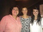 Zeb and Haniya with DJ Naomi Gingold at Georgetown University (1)