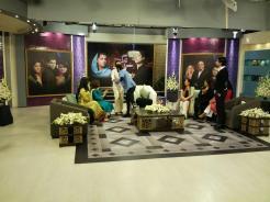 Fawad Khan, Sanam Saeed, Hadiqa Kiani, Sultana Siddiqui & Momina on Jago Pakistan Jago (2)