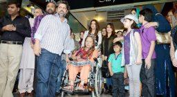 Launch of Hadiqa Kiani Fabric World (4)