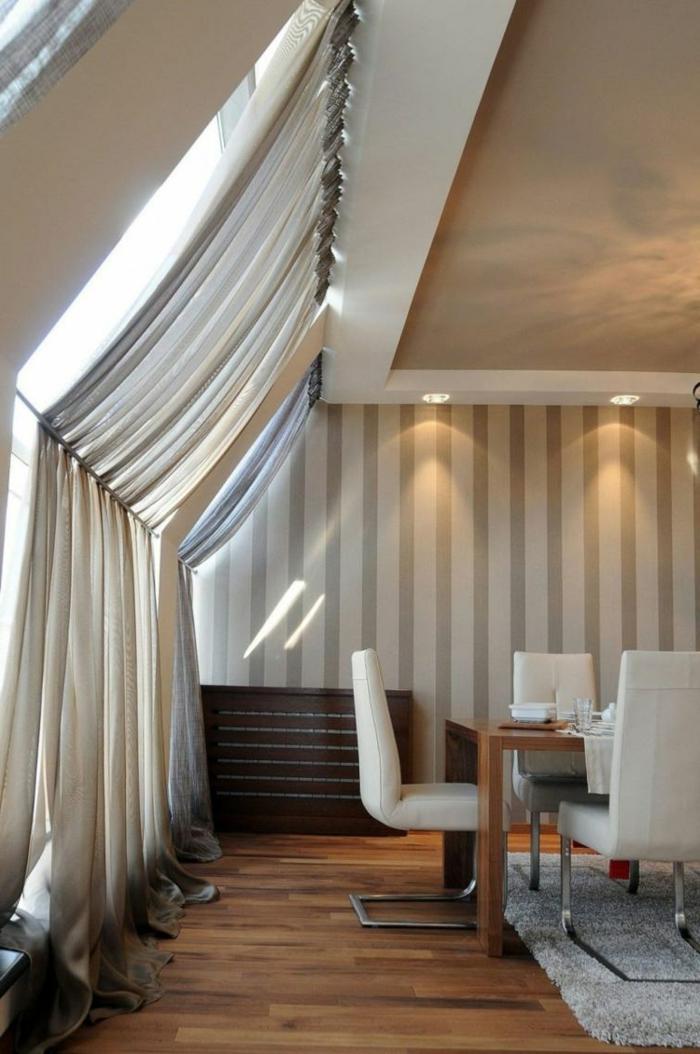 rideaux de fenetre de toit des idees