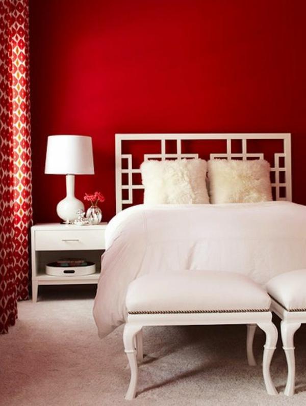 mur rouge 50 idees avec peinture