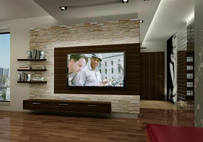 panneau mural tv 35 propositions