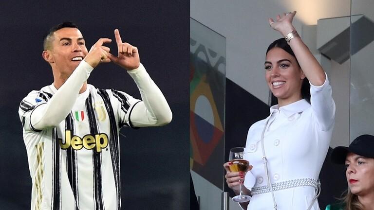 رونالدو يحتفل بطريقة جديدة