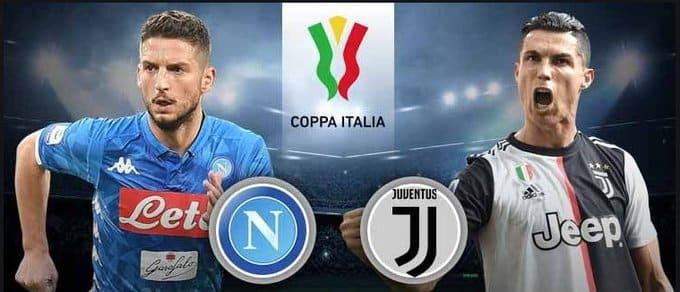 مشاهدة مباراة يوفنتوس ونابولي بث مباشر نهائي كاس السوبر الايطالي 20-01-2021