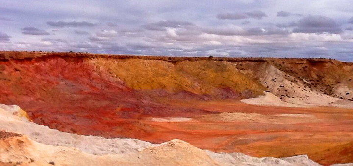 Ochre pit in Yantruwanta country, South Australia. Photo: © koorihistory.com