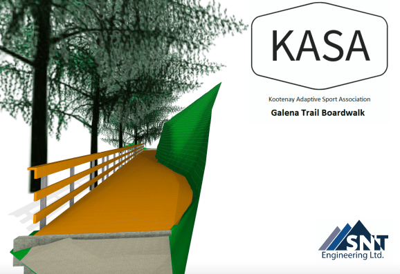 Galena Trail Boardwalk replacement Rendering