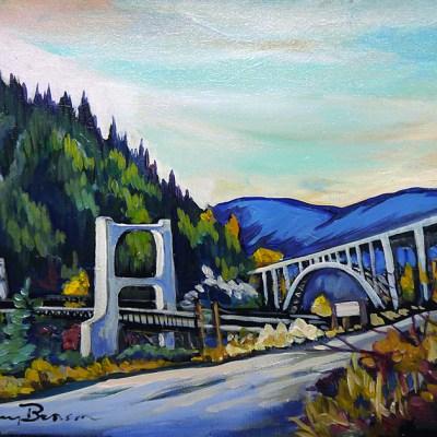 """Bridges"" Painting by Lainey Benson"