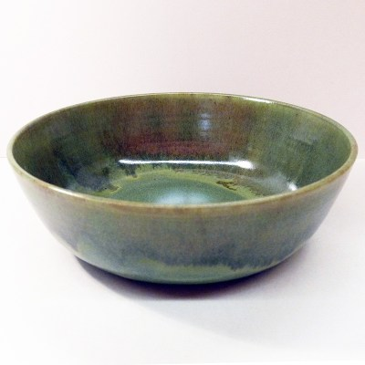Medium Ceramic Bowl by Fran Moll