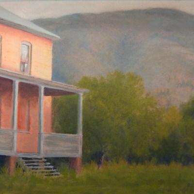 """Doukhobor Communal House – Raspberry, BC"" by Carol Retzlaff"