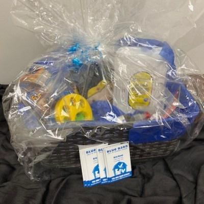 Pet Items Gift Basket