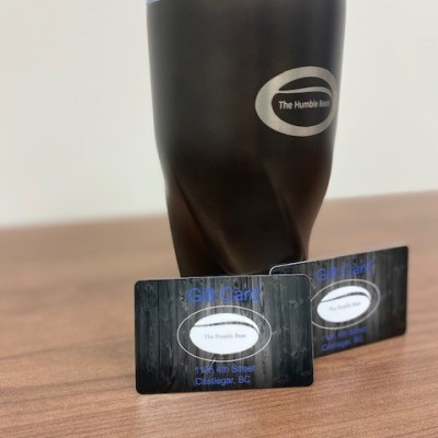 The Humble Bean $100 Gift Cards and Gorgeous Travel Mug