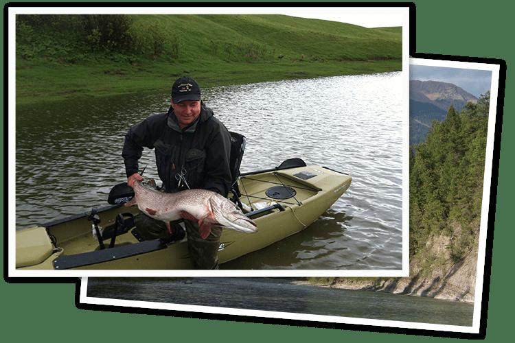 lake fishing trip