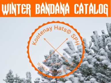 Warm Fleece Lined Winter Bandana Catalog