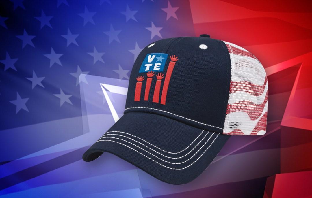 26189-Cap-America-Flag-Mesh-Back-Cap-for-Political-Campaign