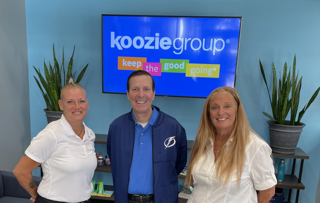 Koozie Group Donates Laptops to A New Direction for Women and Men, Inc.