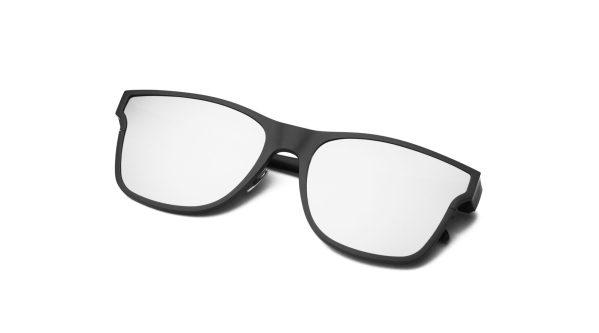 Black/Silver Mirror