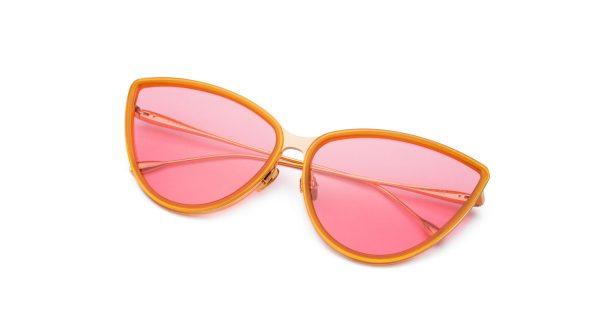 Honey-Gold/Transpa Pink