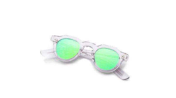 Transparent/Mirrored Green