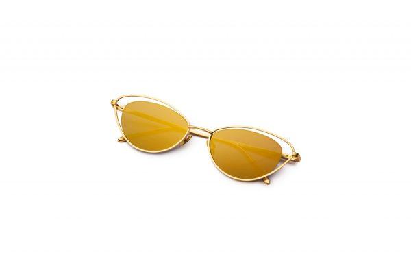 Matt Gold/Mirrored Gold