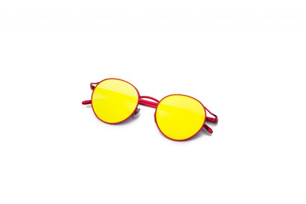 Metal Red/Mirrored Yellow