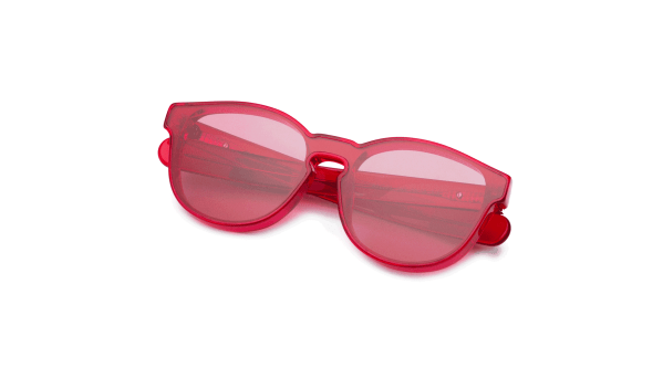 Transparent Red/Transpa Red