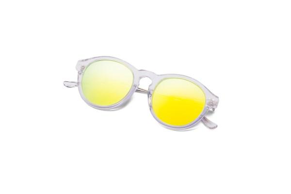 Transparent/Mirrored Yellow