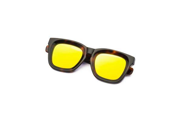 Tarta Dark/Mirrored Yellow
