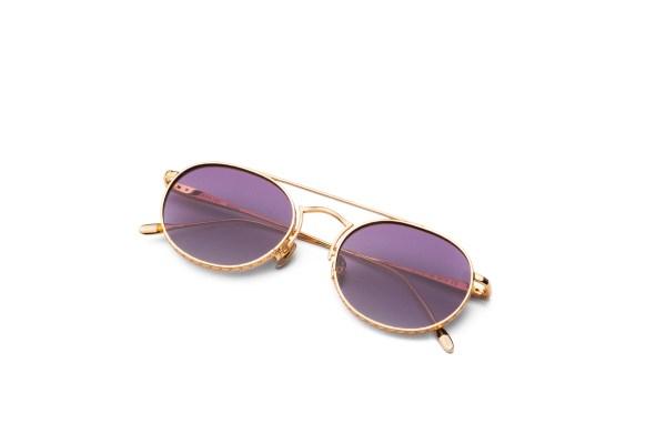 Shiny Gold/Smokey Purple
