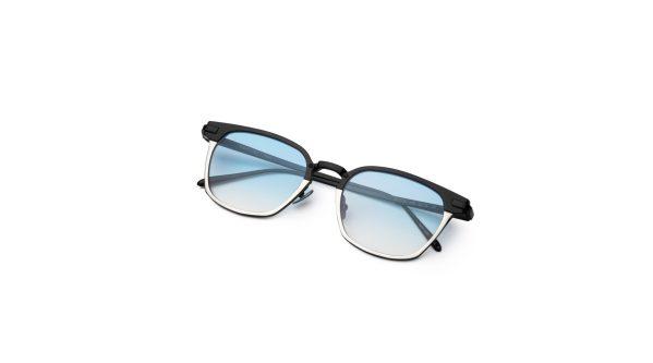 Black-Silver/Smokey Blue