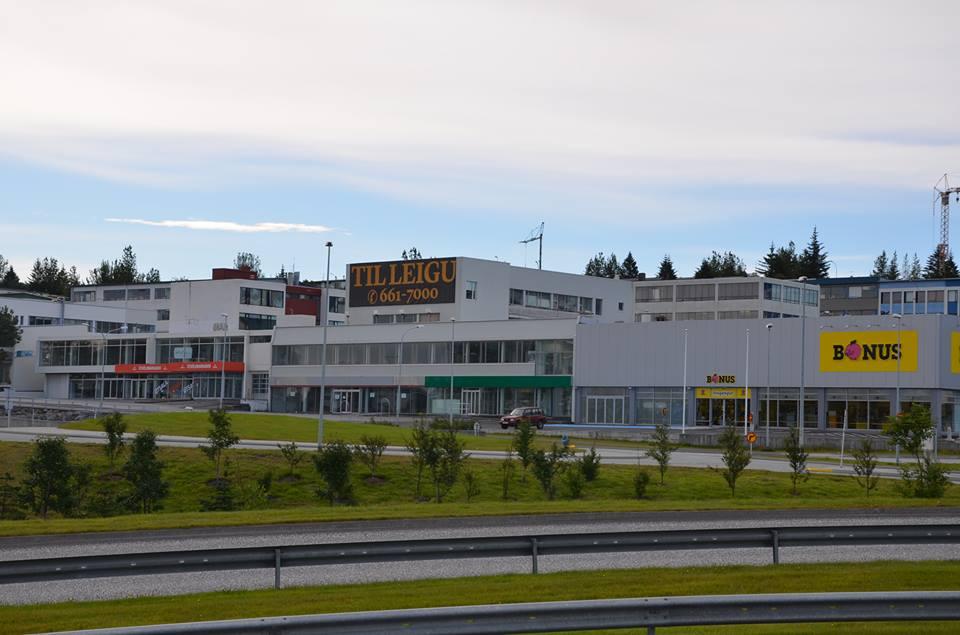 """Glæsilegt verslunarhúsnæði við Nýbýlaveg. Okkar """"Glæsibær?"""""""