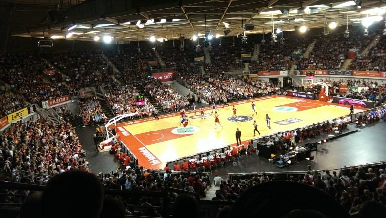 FC Bayern Basketball - Mitteldeutscher BC (86:63), Audidome