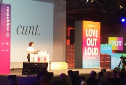 "Caroline Sinders, ""Emotional Trauma, Machine Learning and the Internet"", Love Out Loud – Republica 2017"