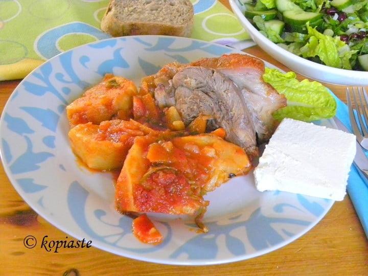 how to cook pork leg shank
