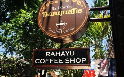 Rahayu Coffee Shop Supported by Bali Coffee Banyuatis