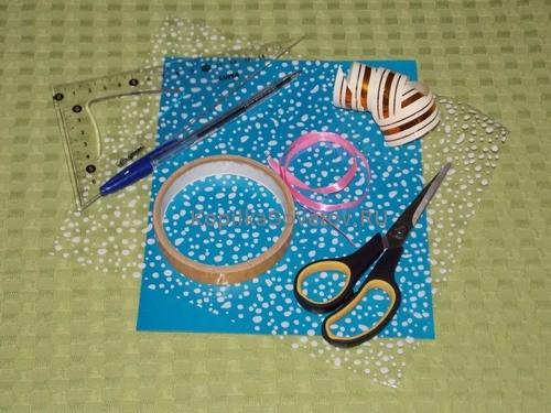 Материалы и инструменты для подарка