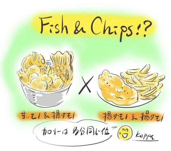 フィッシュ&チップス