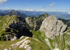 Gabelschrofen und Gumpenkarspitze