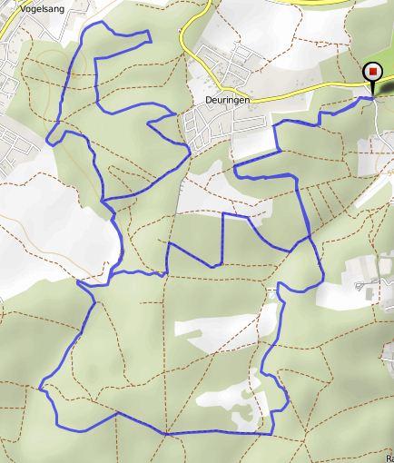 Route 19k trail Bikemap