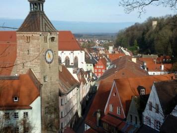 Schmalzturm und Hintere Altstadt (Landsberg am Lech)