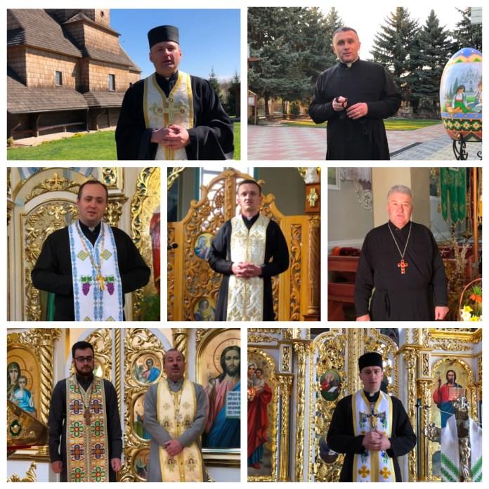 Великоднє відео привітання від священників