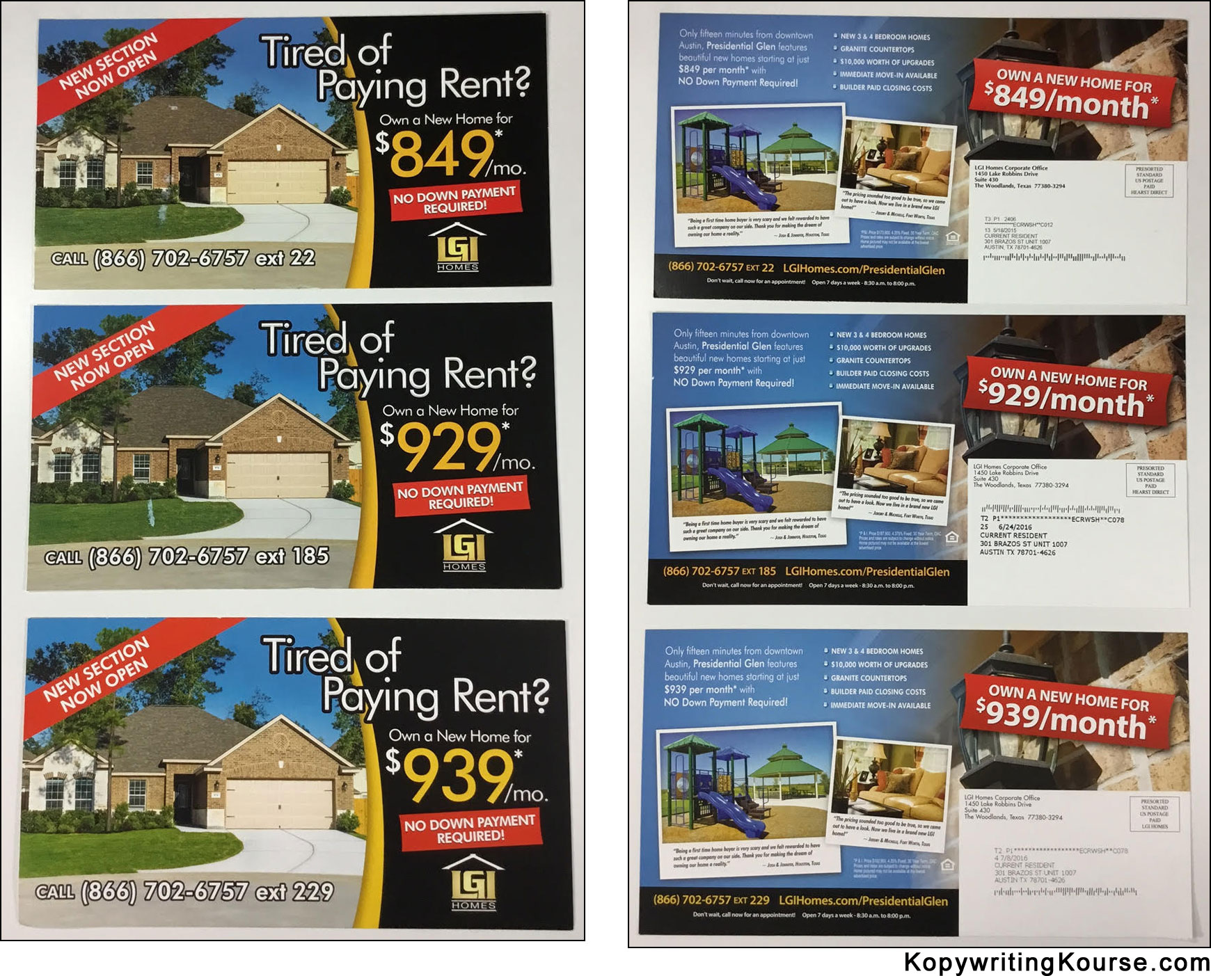 Great Examples Flyers