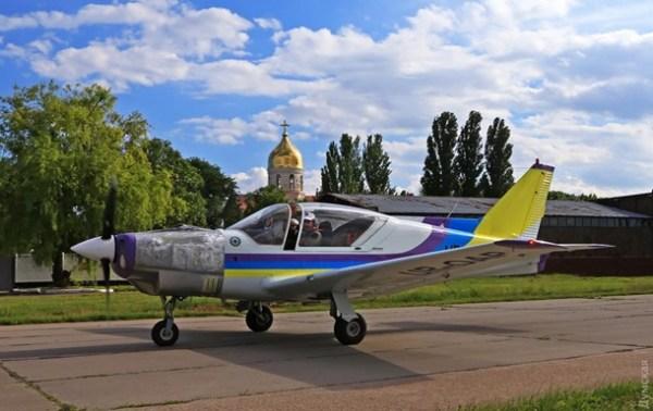В Одессе испытывают новый самолет Дельфин: фото ...