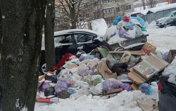 """Опубліковані фото """"сміттєвого колапсу"""" в Києві ..."""