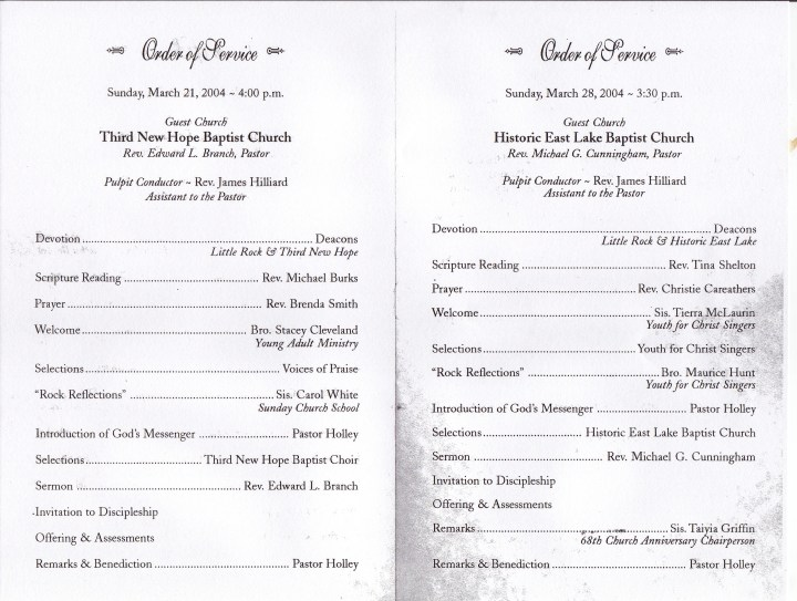 Church Anniversary Programs Templates. Free Church Homecoming Clip ...