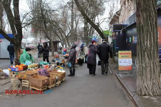 стихийная торговля в Корабельном р-не (12.02.2019)