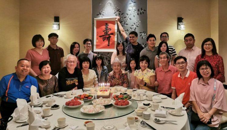 2019年5月,母亲90岁祝寿宴