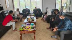 KOWAS Balangan silaturahmi Idulfitri dengan Bupati Balangan. (Sumber Foto: Kominfo Balangan)